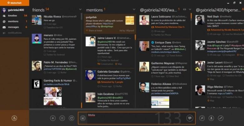 MetroTwit - Alternativas a MetroTwit: mejores aplicaciones de Twitter para Windows