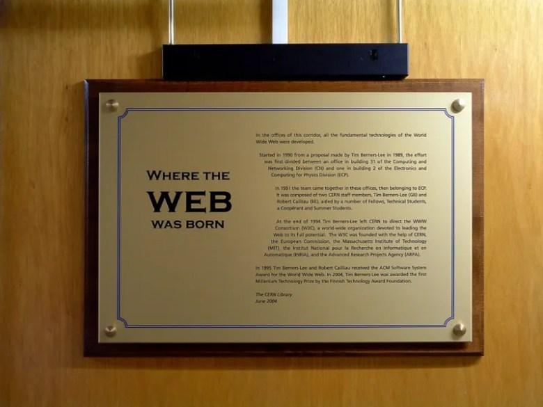 Nacimiento de la web - 25 aniversario World Wide Web