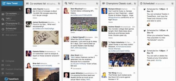TweetDeck - Alternativas a MetroTwit: mejores aplicaciones de Twitter para Windows