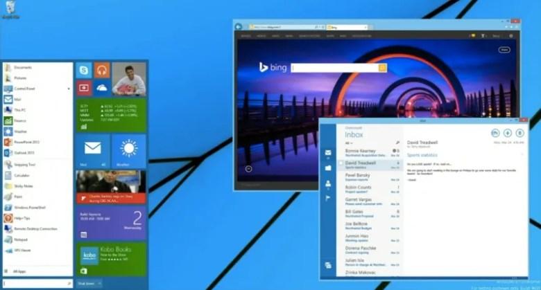 menu inicio windows 8.1
