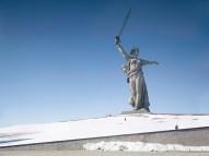The Motherland Call, Volgograd, Russia, 285 ft, built in 1967