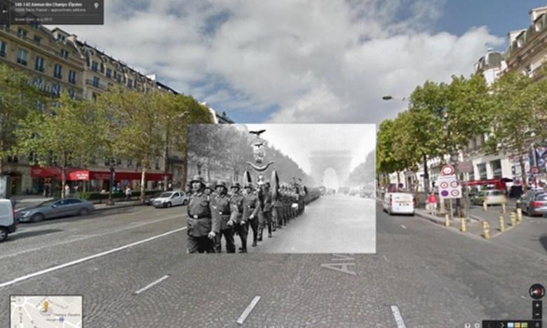 soldados Alemanos campos eliseos