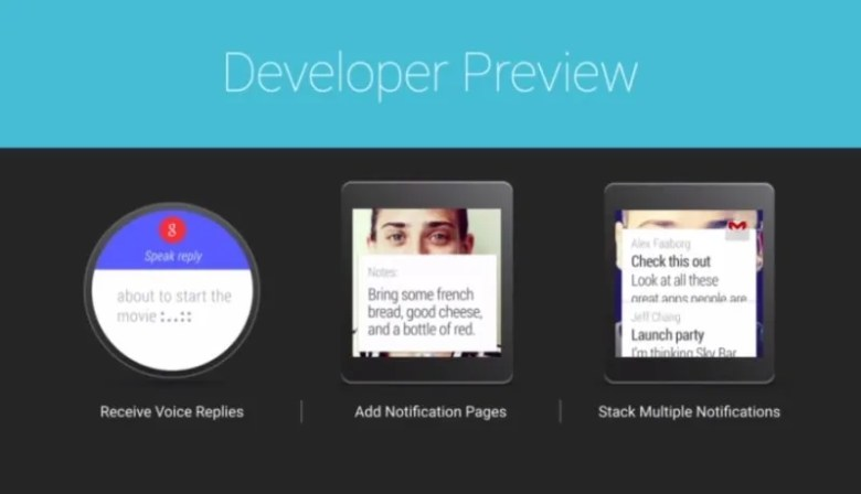 android wear developer