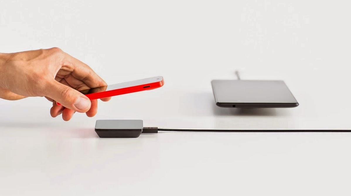 carga inalámbrica para smartphones