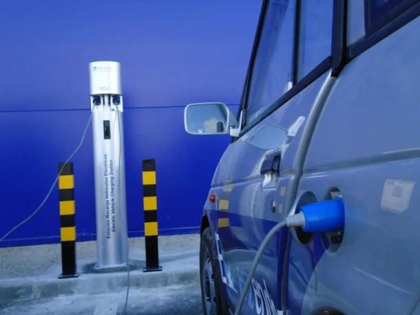 recarga de coche de hidrogeno