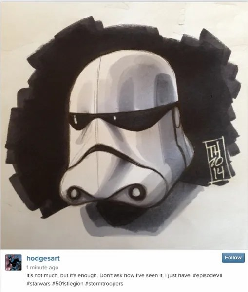 Stormtrooper episode vii