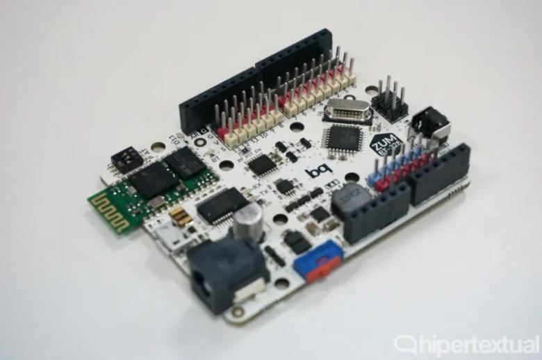 Placa de robótica de bq.