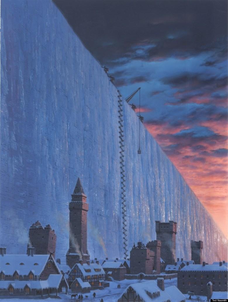 el muro de hielo game of thrones