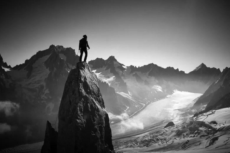 Escalador en Francia. Foto de Yosuke Kashiwakura. National Geographic Photo Contest