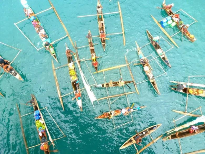 MAdagascar y sus botes. Foto de Rupert Preifller. National Geographic Photo Contest