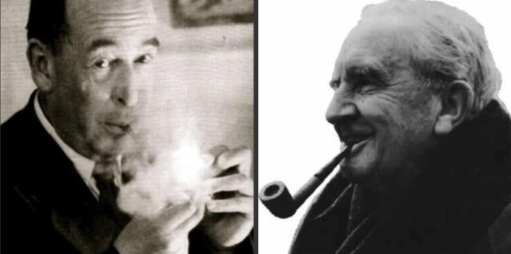 C S Lewis Y J R R Tolkein. <a href=