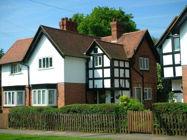 La primera casa en Inglaterra dónde vivio Tolkien, en Wake Green Road, 264, Birmingham. <a href=