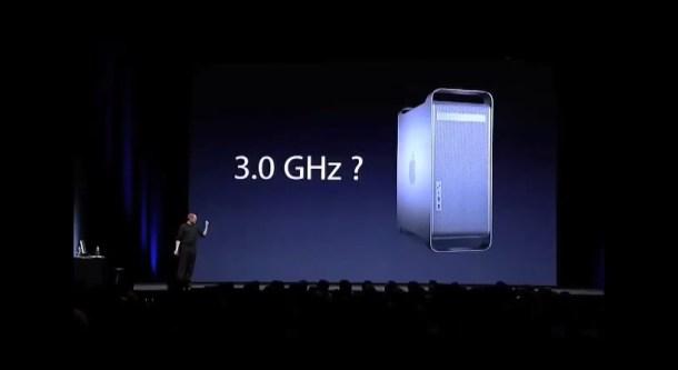 Steve Jobs 3ghz