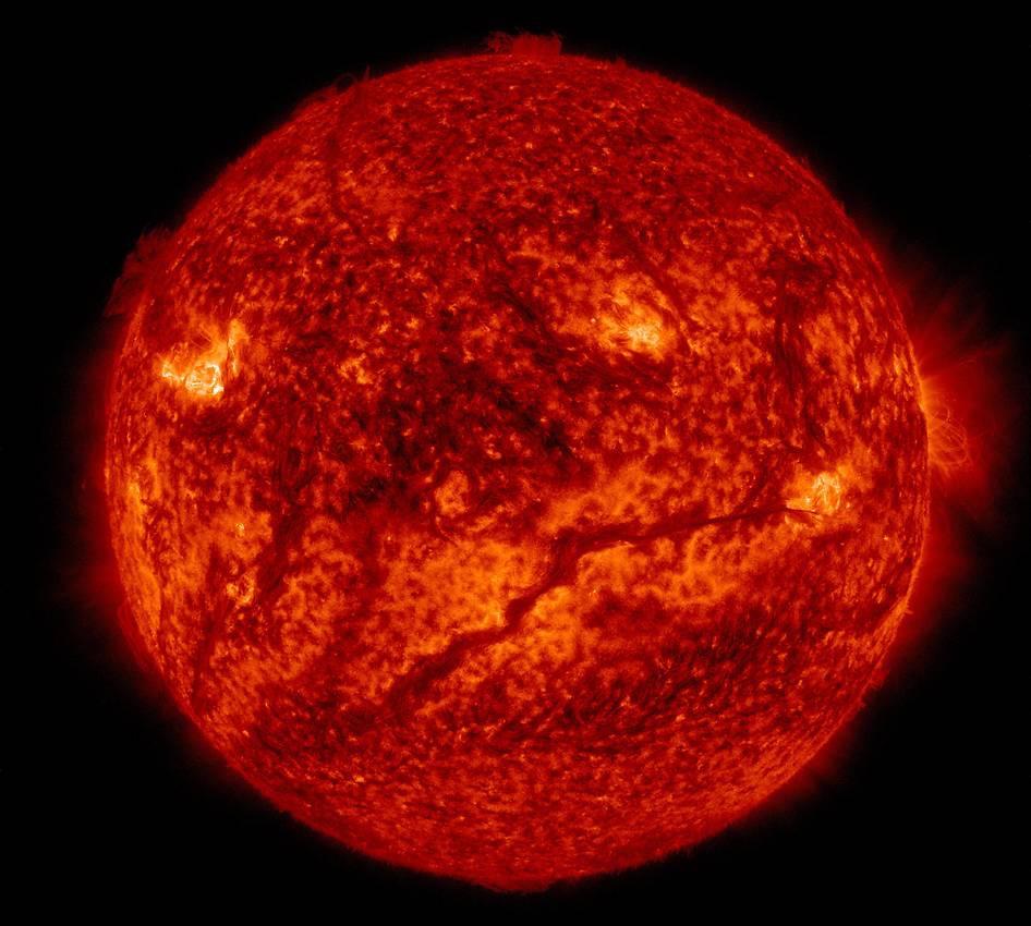 filamento solar