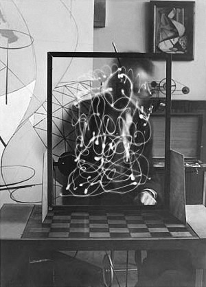 """Space Writing"" de Man Ray"