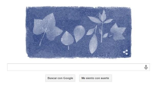 Doodle que conmemora el aniversario de su nacimiento / Google