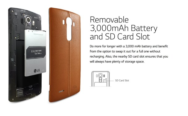 LG G4 Batería