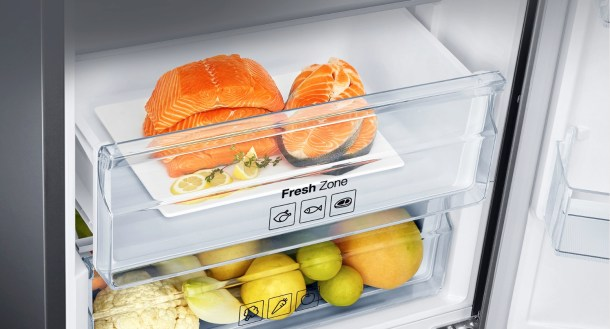 Las neveras modernas de gama alta ofrecen secciones de refrigerado destinadas a diferentes productos para conservar sus propiedades de la mejor forma posible.