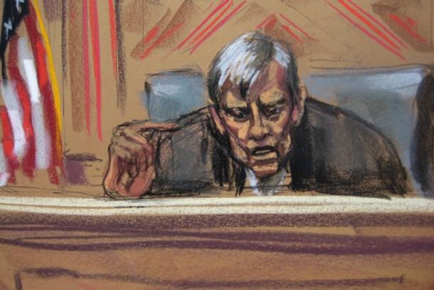 U.S. District Judge Thomas Griesa - Reuters
