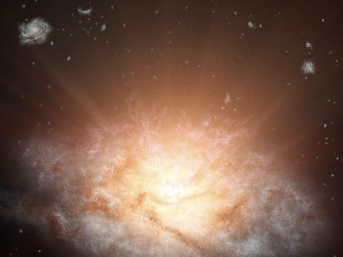 galaxia mas brillante
