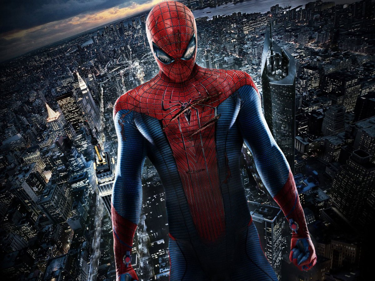 spiderman en capitán america