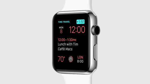 Time Travel watchos 2.0