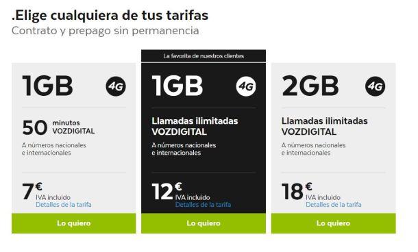 Estas son las nuevas tarifas de .Tuenti, con 4G incluido y una fuerte apuesta en Voz Digital.
