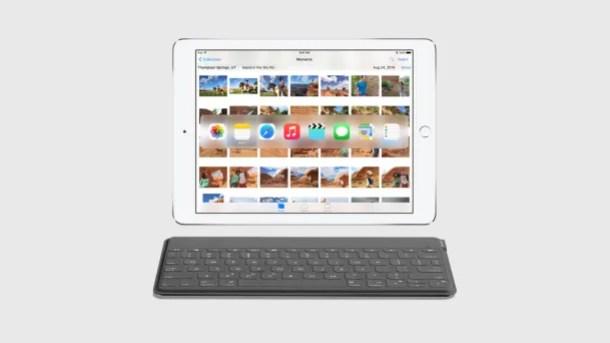 iOS 9 ipad teclado externo
