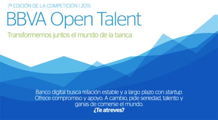 BBVA Open Talent 2015 - Convocatoria