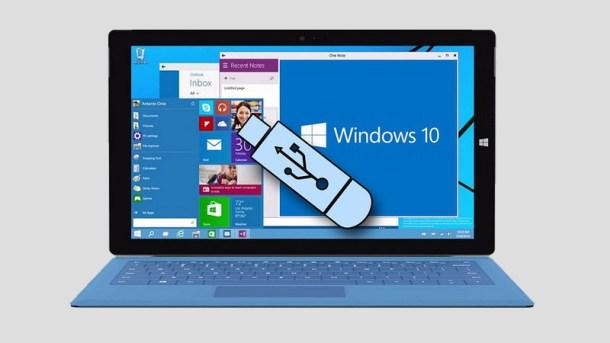 crear disco de arranque usb con windows 10
