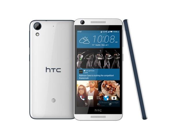 HTC Desire 626, con líneas que recuerdan más a la gama One, pero con algunos toques característicos de los Desire.