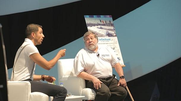 Steve Wozniak en Aldea Digital - Fotografía Telcel