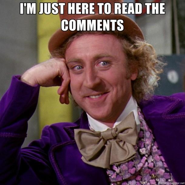 regular los comentarios en Internet