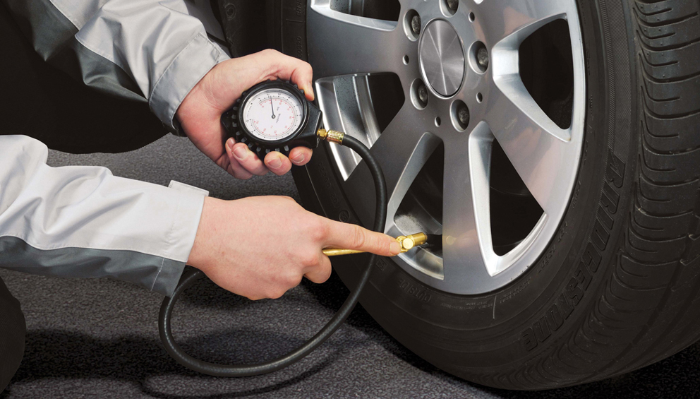 presión de tus neumáticos
