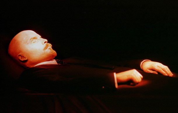 cuerpo de Lenin