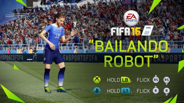 FIFA 16 35 celebración