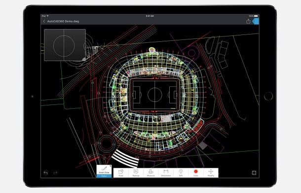 iPad Pro Cad