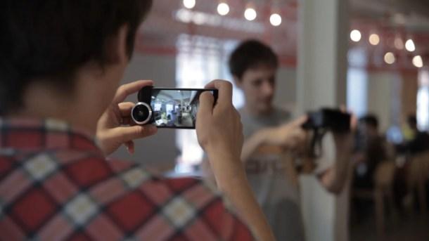 Dispositivo de lentes SHOT