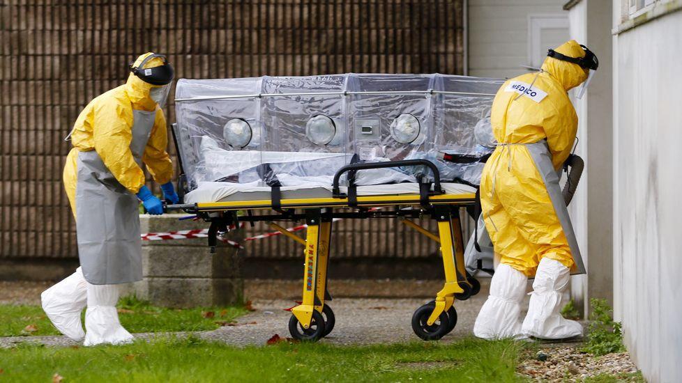 ébola en España