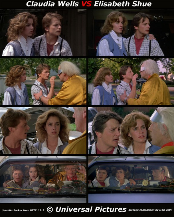 back to the future actrices