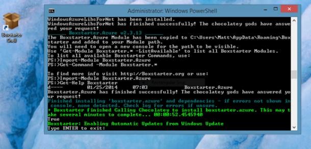 instalar paquetes en Windows