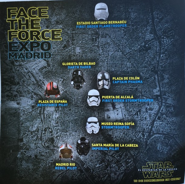 cascos star wars madrid face the force