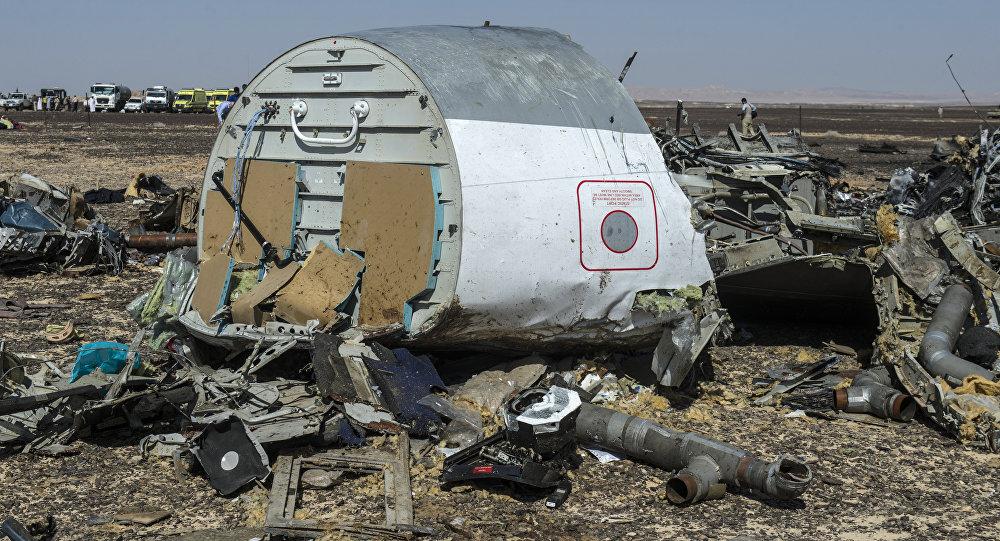 avión ruso estrellado