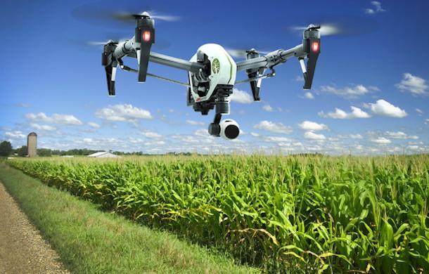 Drones mantendrán vigilados los cultivos y el terreno para comprobar en tiempo real la situación.