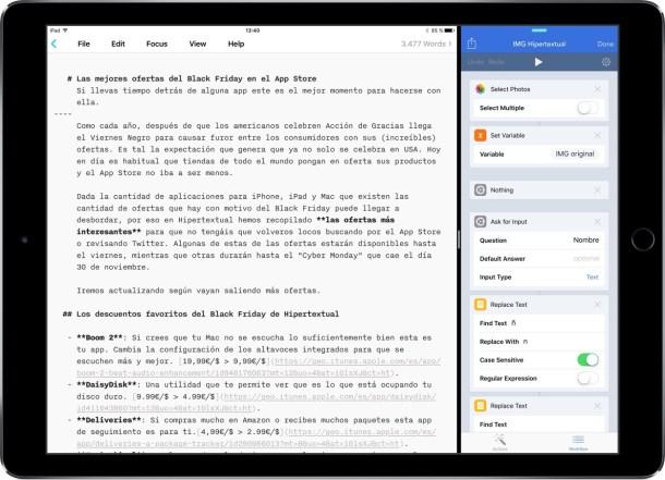 iPad Pro - subir imagen