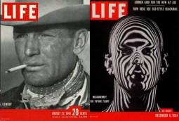Izquierda: 22 de agosto de 1949. Foto: Leonard McCombe. Derecha: 6 de diciembre de 1954. Foto: Ralph Morse.