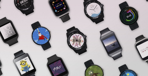 Android Wear Caras Faces