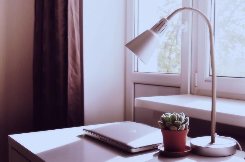 espacio de trabajo minimalista