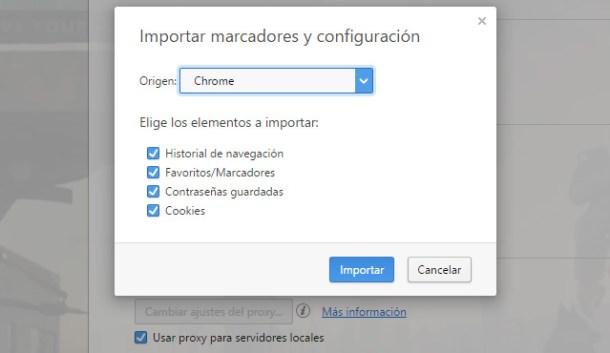 cambiar Chrome por Opera