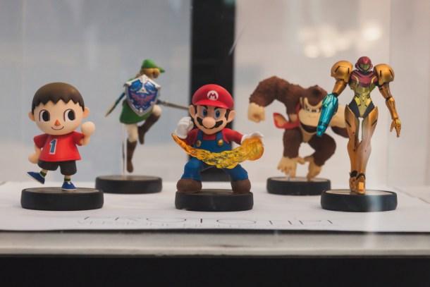 Figuras de la primera serie de amiibo dedicada al juego Super Smash Bros. de Wii U / Shutterstock